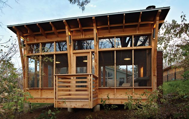 one room cabin with shed roof Google Search Shed roof cabins