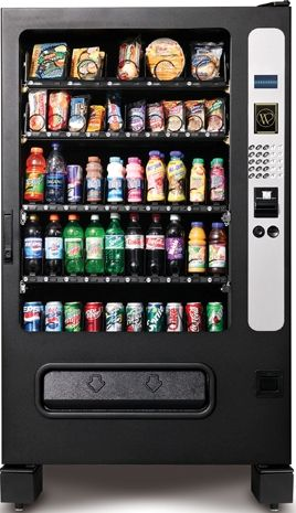 Chill Center Cold Food Beverage 5 Wide Vending Machine