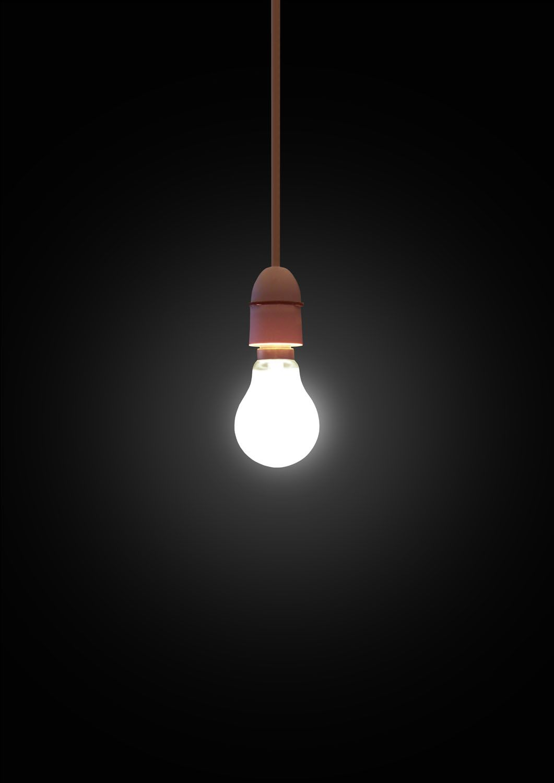 light bulb | Afiş | Dark wallpaper, Black wallpaper, Screen wallpaper