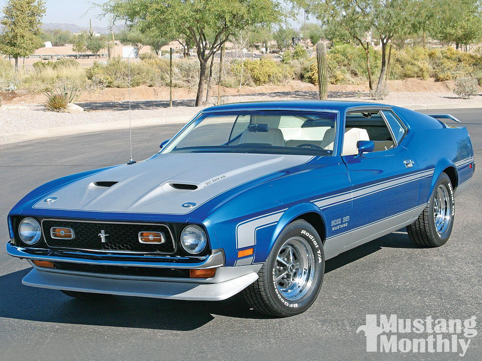 71 Mustang Boss 351 Mustang Boss Mustang Vintage Muscle Cars