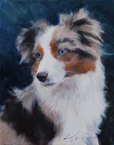 Daily Paintworks Bisbee Original Fine Art For Sale C Clair Hartmann Pet Portraits Original Fine Art Fine Art