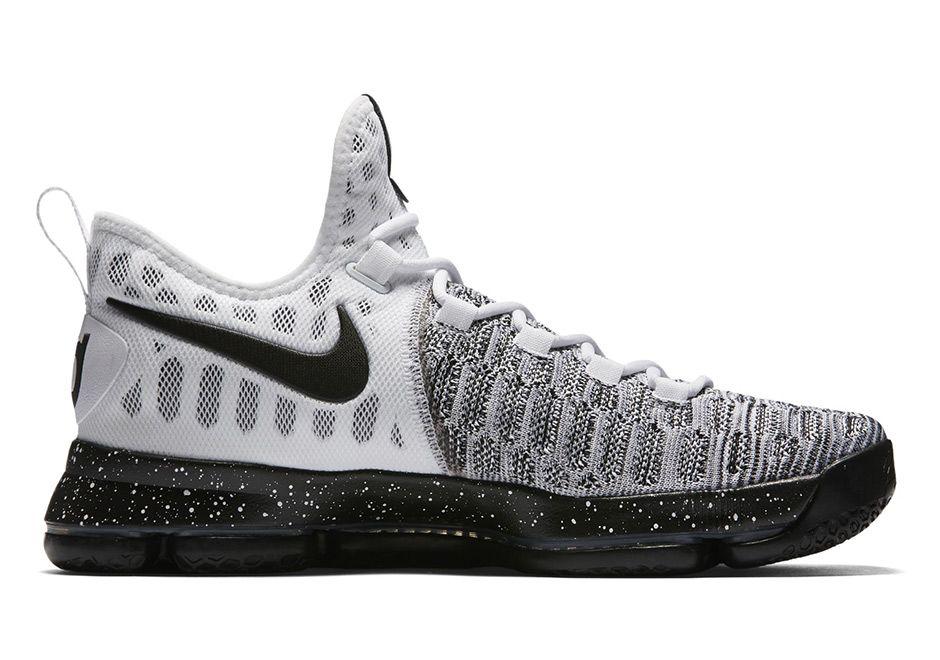 9260b1129279e2 Nike KD 9 White Black 843392-100 Release Date
