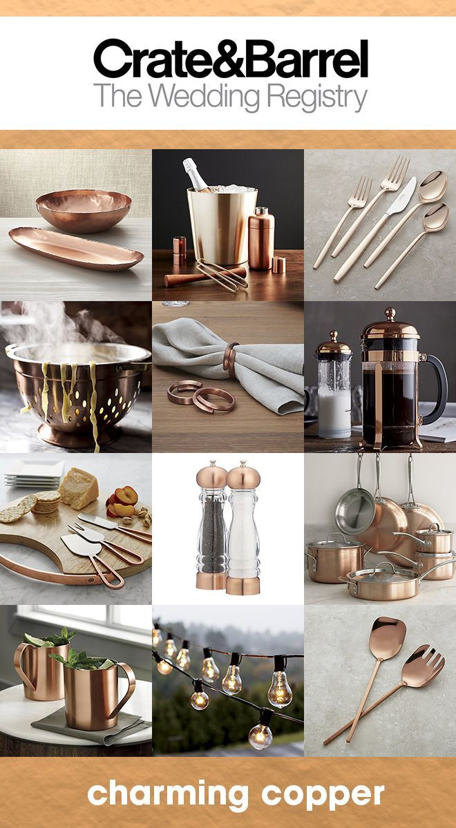 Color Obsessed With Crate & Barrel Wedding Registry Best