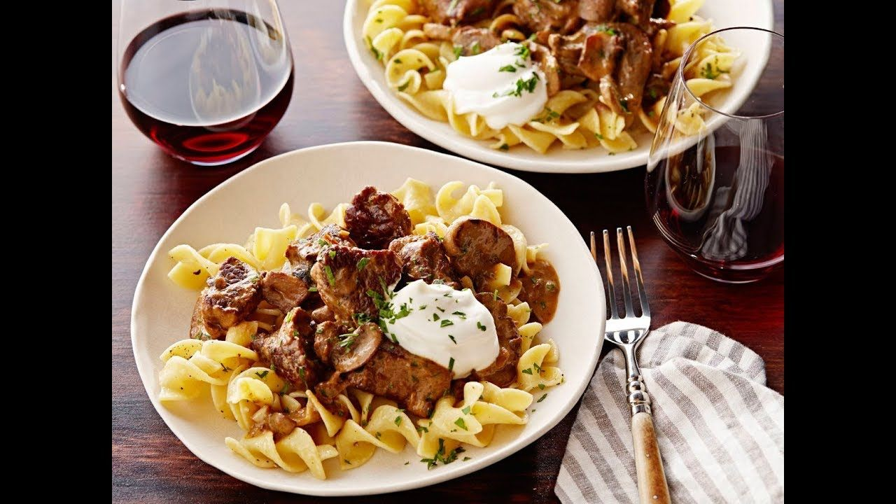 Tylers beef stroganoff over buttered noodles food network read 42 delicious meal ideas for fussy toddlers today be inspired and dig in to the recipes guides and tips tricks and hacks on food network forumfinder Images