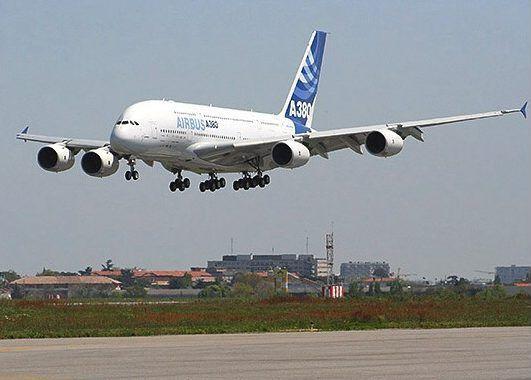 Airbus A380, avión comercial con mayor número de plazas