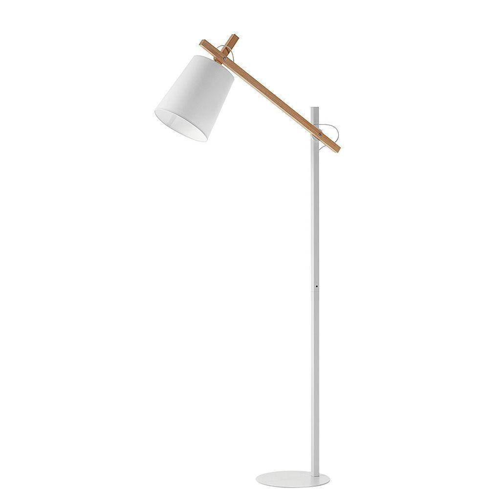 Stehleuchte Kosta I Metall X2f Holz Stehlampe Steh Lampe