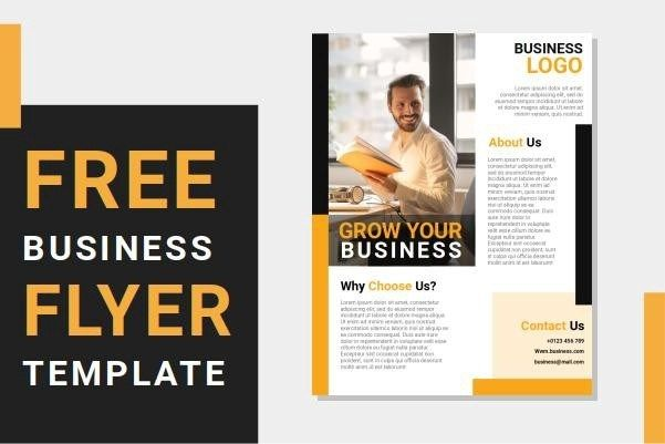 Free Business Flyer Templates Word Document Saidi Creative Business Flyer Templates Template Word Document Free Brochure Template
