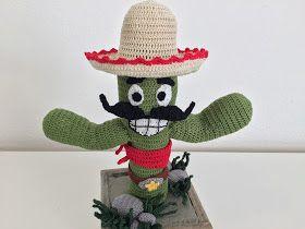 The Sam Blog: Pedro, Crochet Cactus
