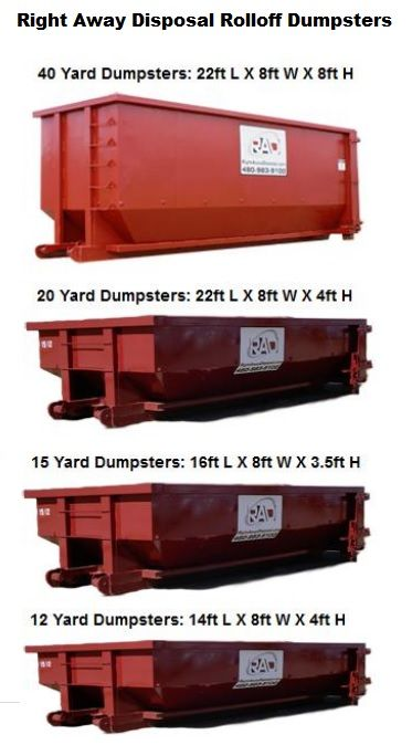 Tucson Roll Off Dumpsters Rentals And Disposal Services Dumpster Rental Roll Off Dumpster Dumpster