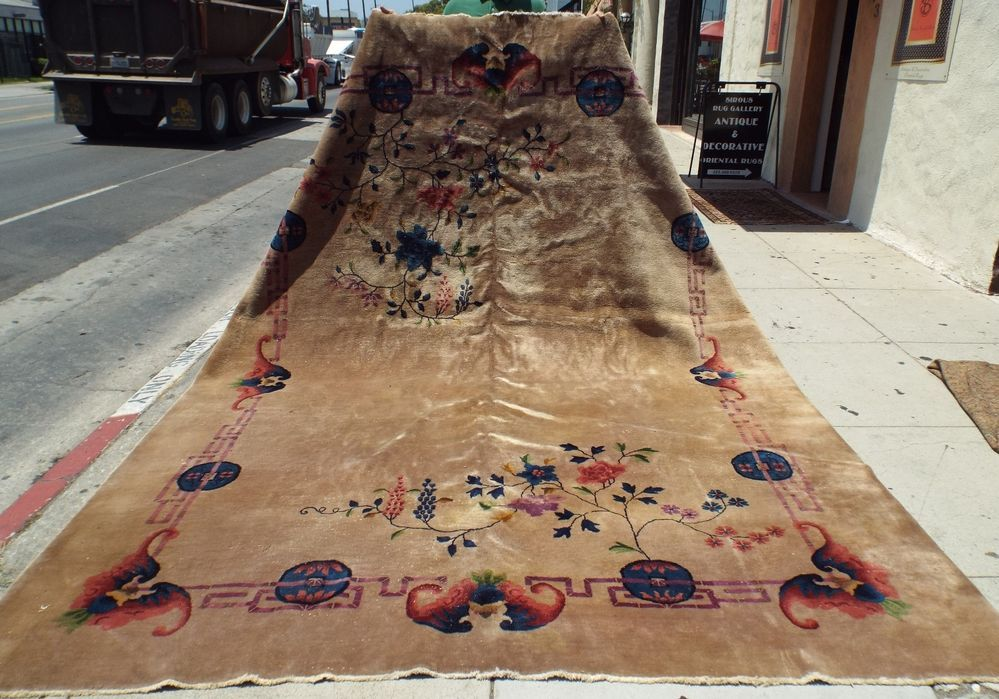 Authentic Antique Chinese Art Deco Rug 1930 S Nichols Wool Beauty Nr Chineseartdecoperiodantiqueweaving Art Deco Rugs Chinese Art Art Deco