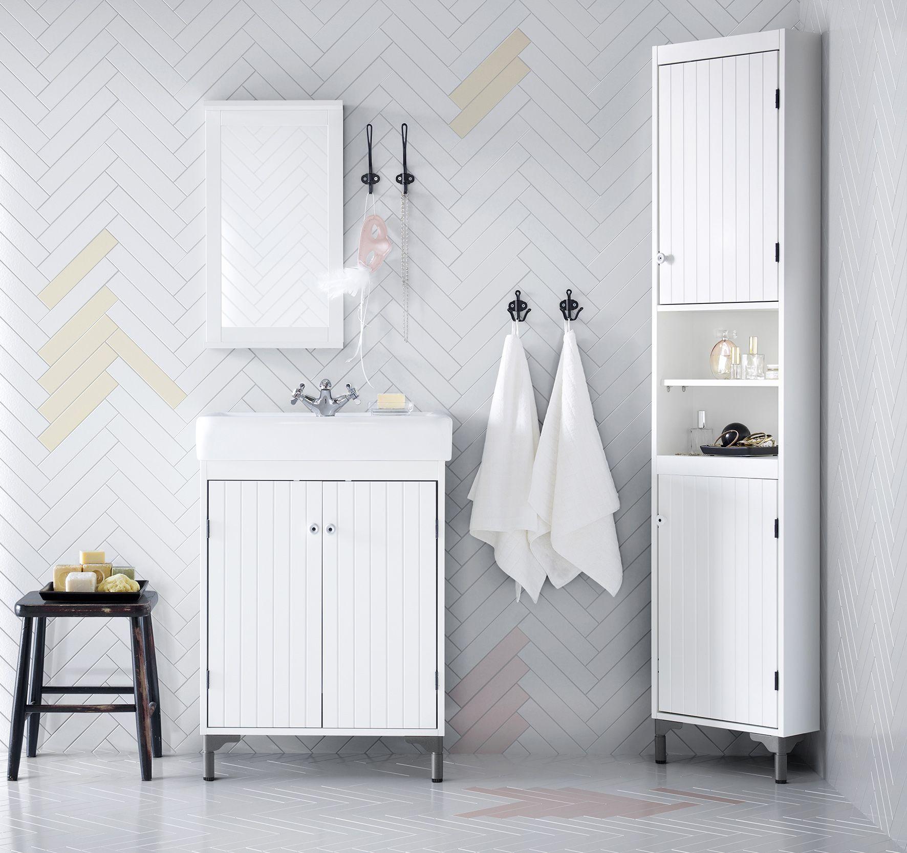 4 ikea silveran serie badkamer pinterest appartements