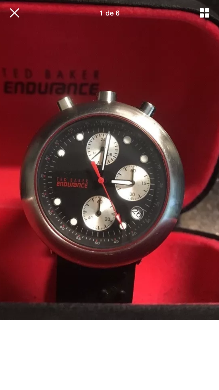 d398e09bdf5a Ted Baker Endurance bullhead chrono