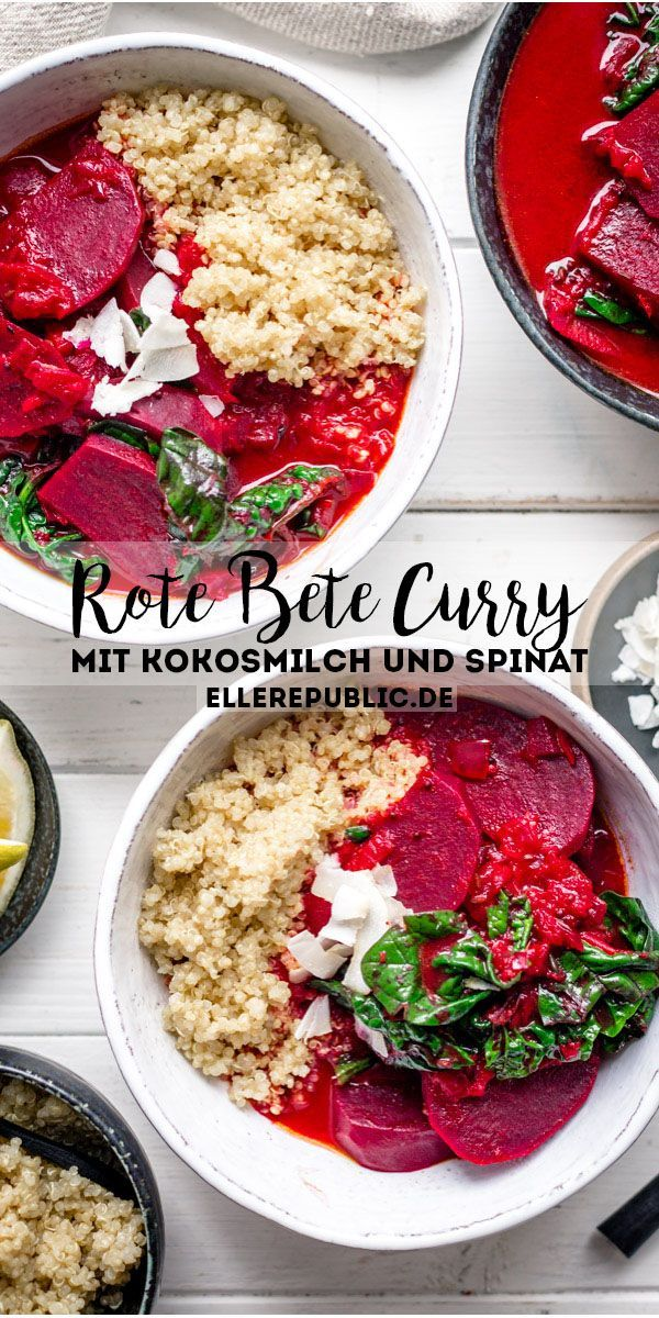 Photo of Rote-Bete-Curry mit Kokosmilch   Rezept   Elle Republic