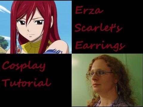 Erza Scarlet Earrings
