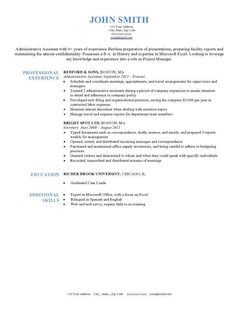 Harvard Microsoft word resume template