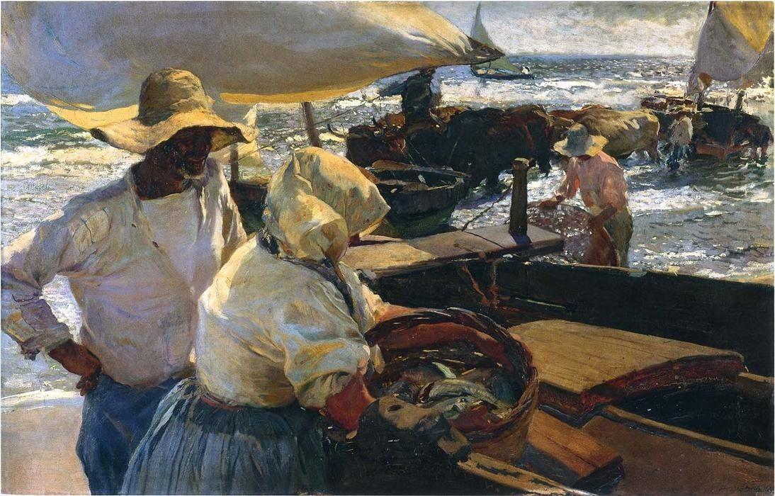 Spanish artist, light studies