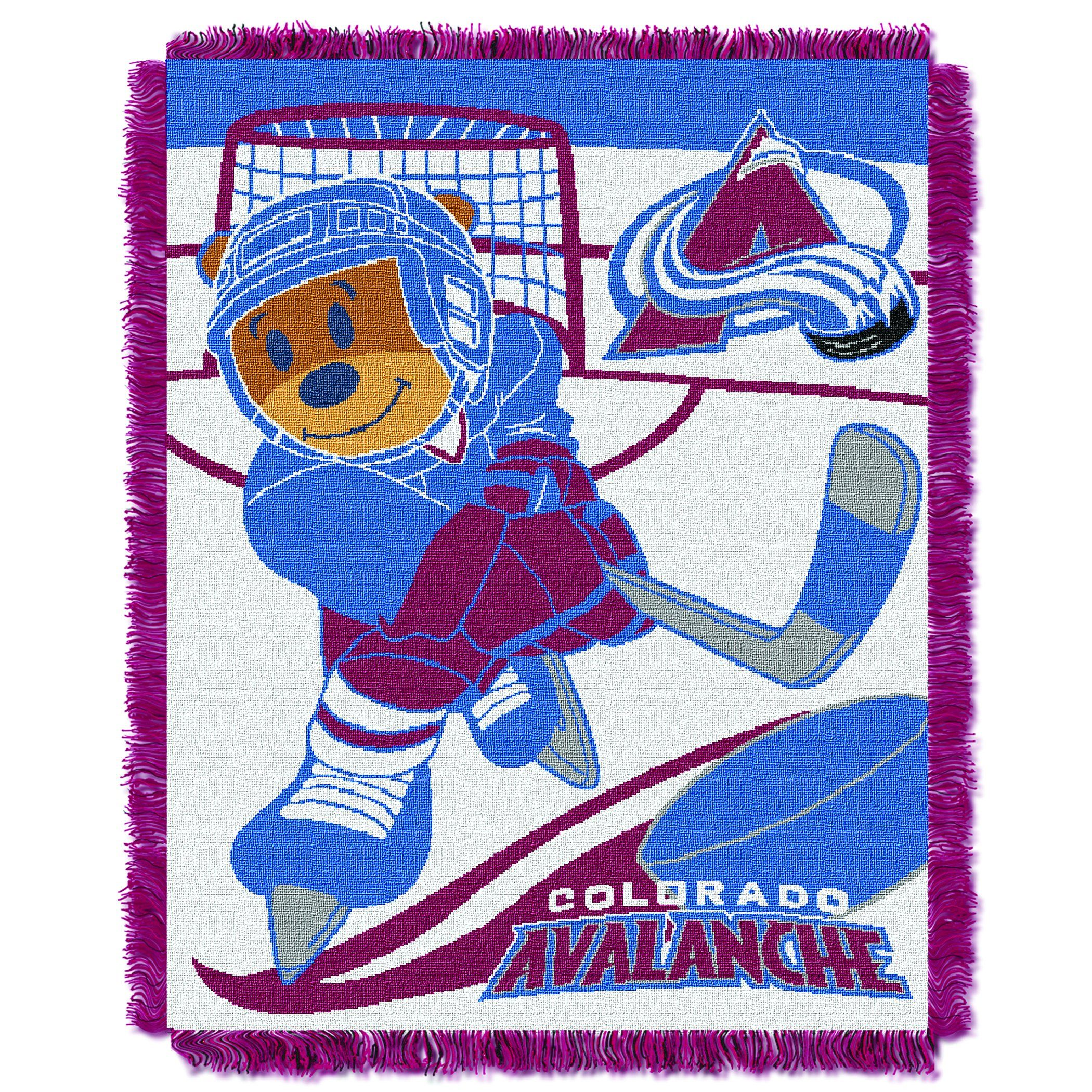 Avalanche Official National Hockey League Score Baby Baby 36 X 46