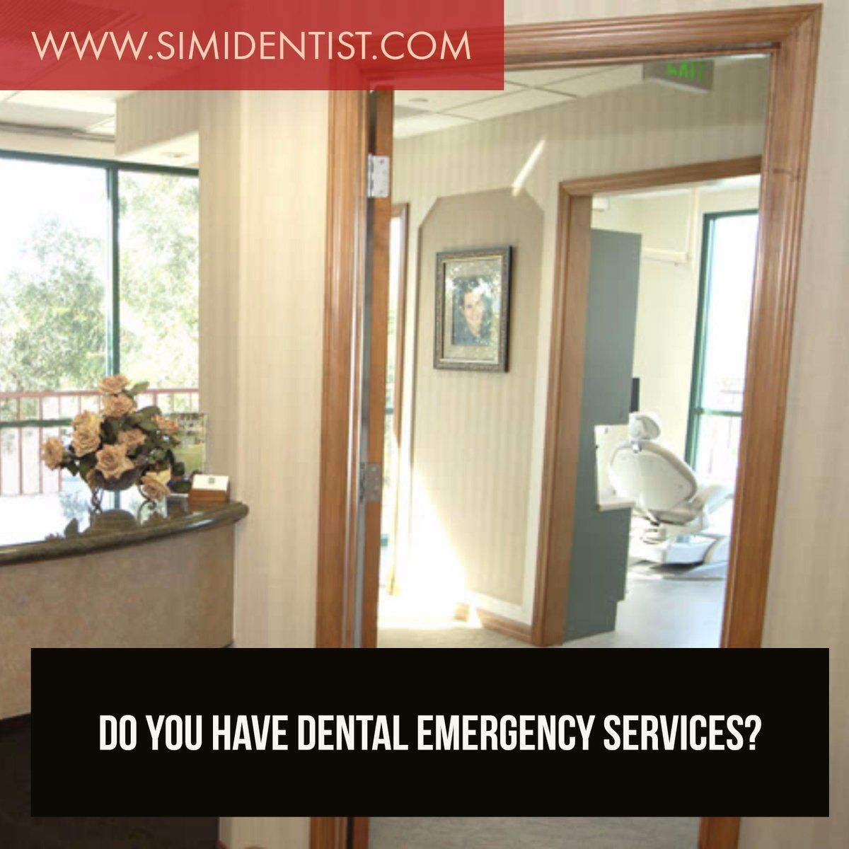 Yes, we have dental emergency services. Contact our Simi