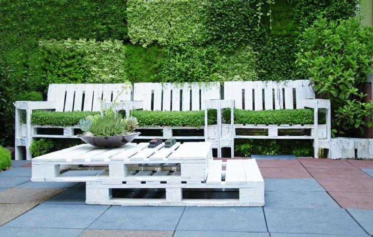 Collection de salons de jardin en palettes ! | Pallets, Troy and ...