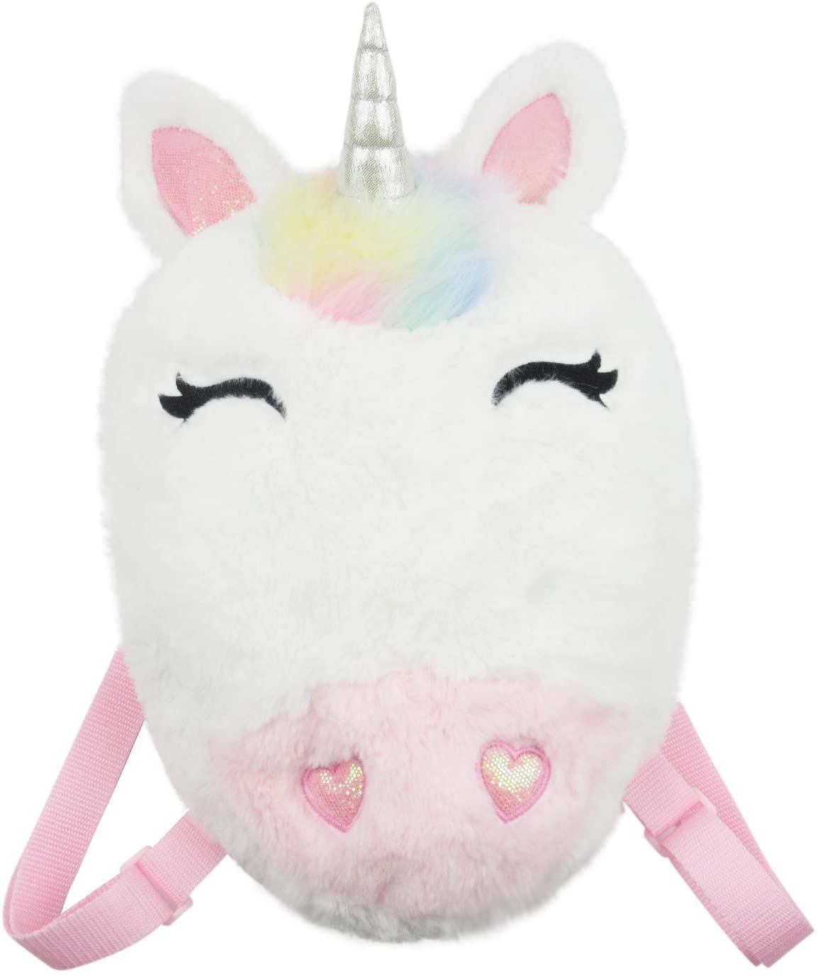 Youngfine Unicorn Plush Novelty Cute Plush Little Girls Boys Animal Backpacks With Back Straps In 2021 Unicorn Stuffed Animal Cute Plush Unicorn Plush [ 1377 x 1154 Pixel ]