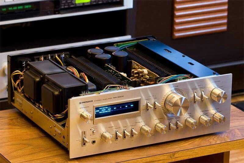 Vintage Audio Pioneer SA-9800   Hi Fi Amplifier in 2019   Pioneer