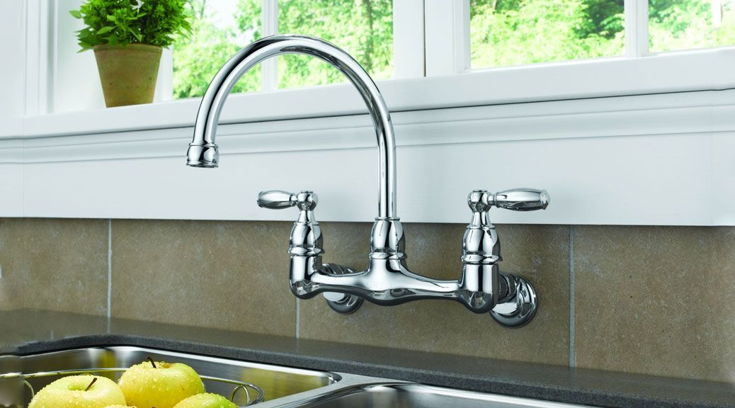 Kitchen Sink Faucet Installation Types Wall Mount Kitchen Faucet
