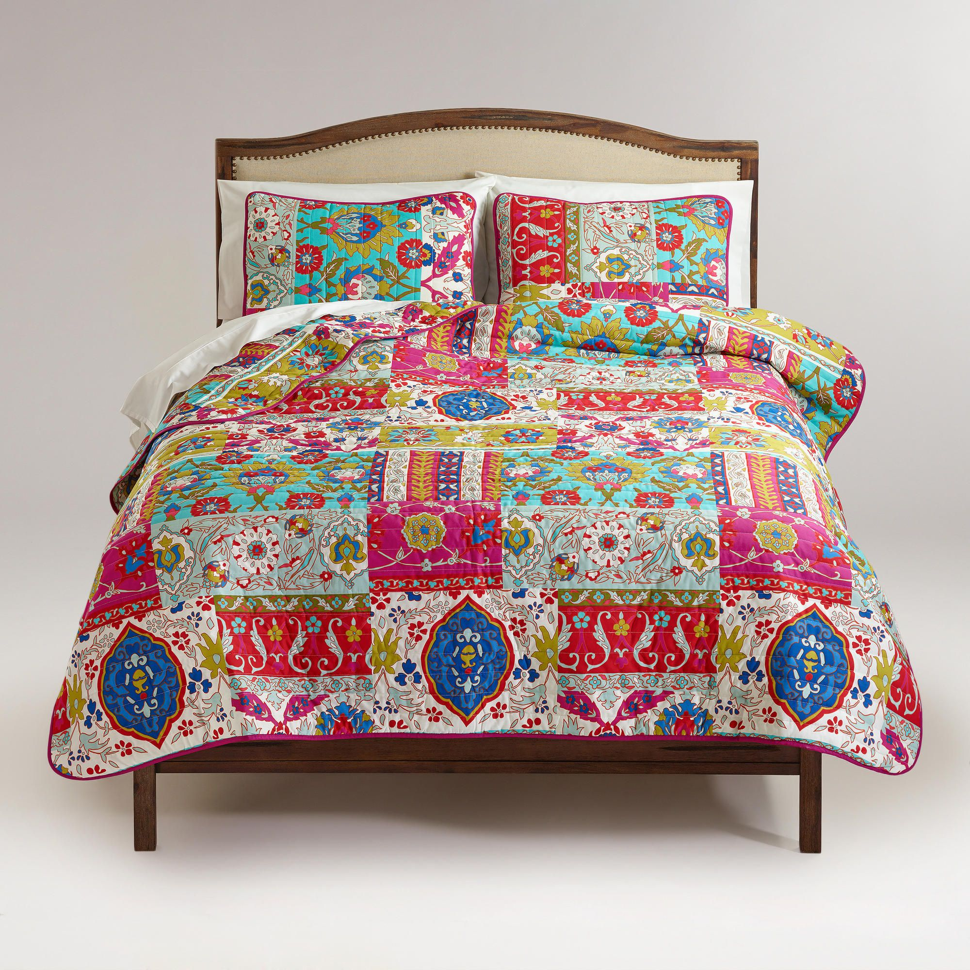 Istanbul Patchwork Bedding Collection World Market Home Decor