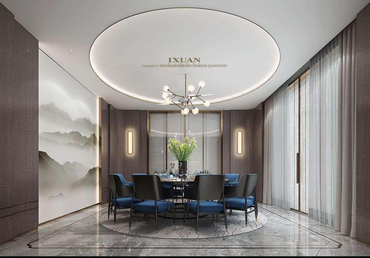 Dining Room Design Chinese Style Interior Luxury Interior Chinese dining room decor