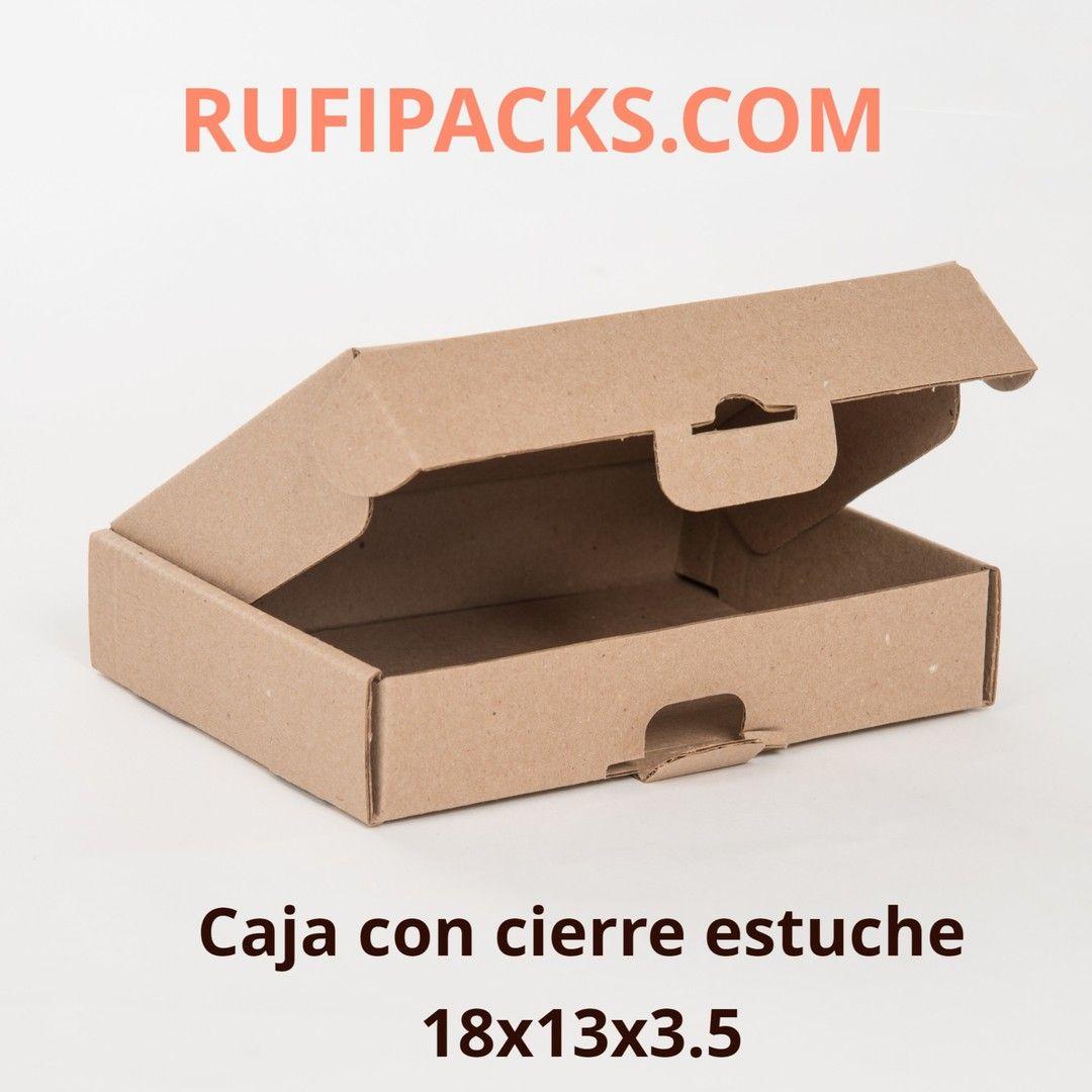 Caja Con Ciere Estuche Tamaño 18 X 13 X 3 5 Microcorrugado Kraft Disponible En Paquetes De 25 50 100 Unidades Per Step Stool Decor Home Decor