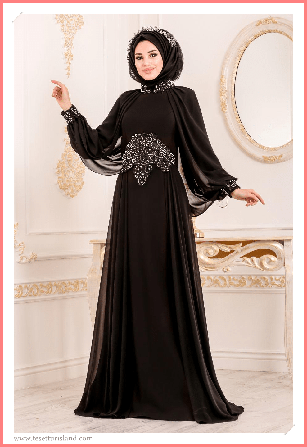 Tesetturlu Abiye Modelleri 2021 Lookbook 2020 Musluman Modasi Abaya Tarzi Elbise