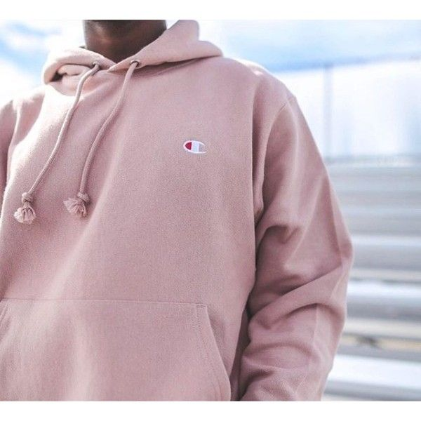 Champion Reverse Weave Hoodie Sweatshirt ❤ liked on