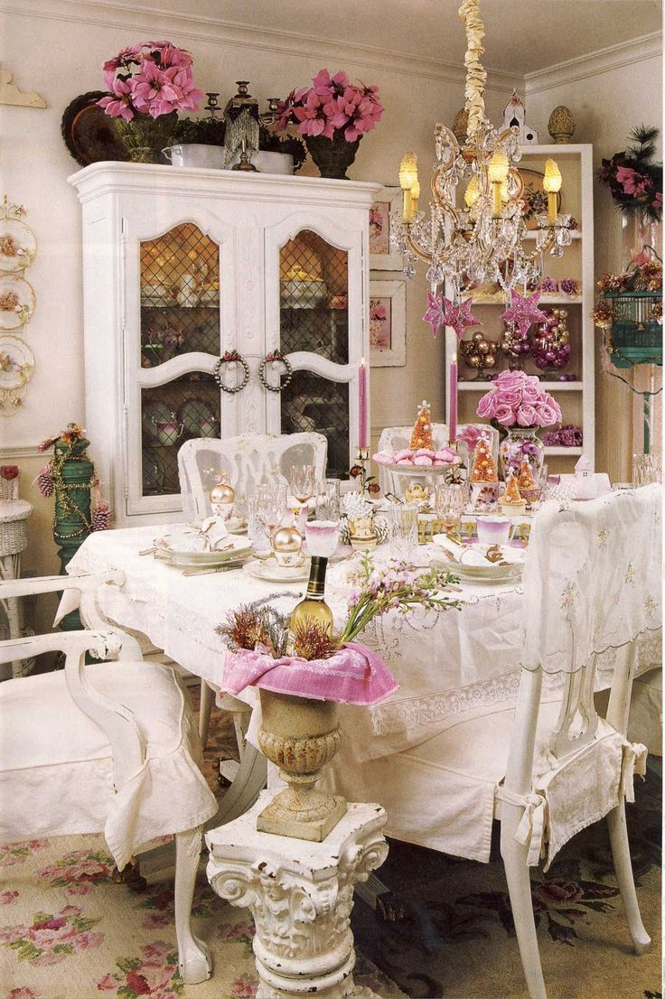 Decoration · Shabbyfufu: White Decorating Is Timeless Romantic Country  Magazine