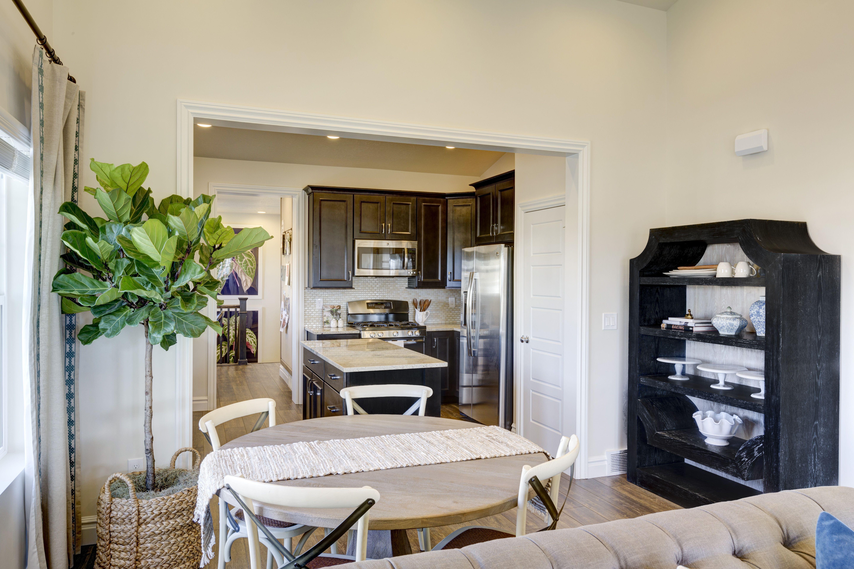 dining room - alden craftsman daybreak ut - ivoryhomes