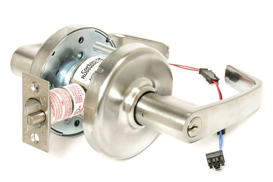Corbin Russwin Cl33903 Nzd 626 24ad Fail Safe Electrified Lever Lock Lever Electric Lock This Or That Questions
