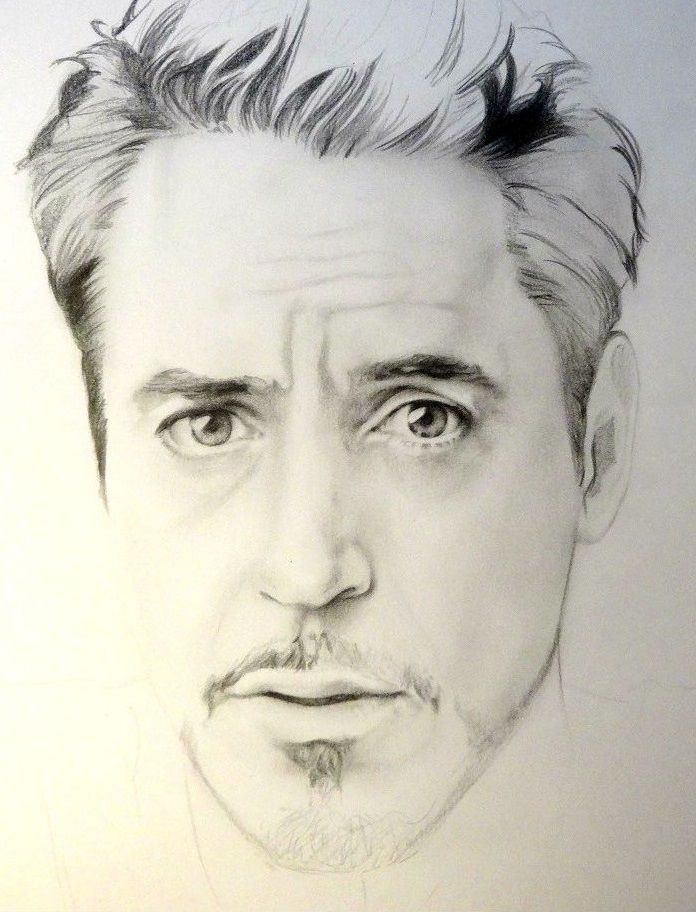 Tony Stark By Synosurai Marvel Drawings Marvel Celebrity Drawings