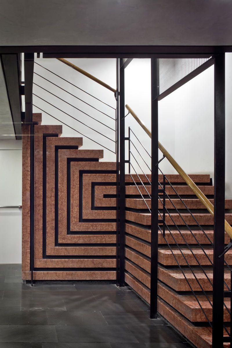Pin di agustin orozco su stairs disegno scala for Interni architettura