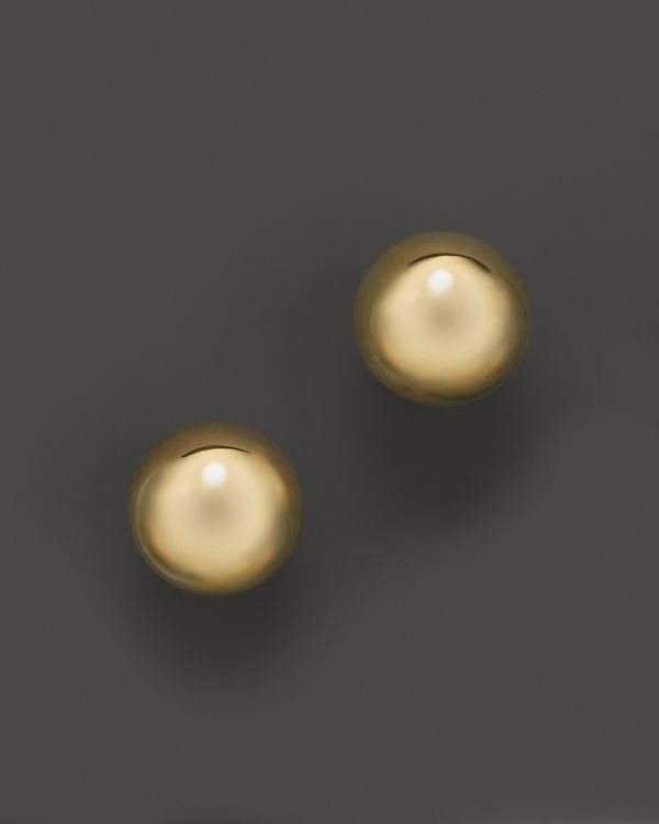 Roberto Coin 18K Yellow Gold Small Pallini Post Earrings
