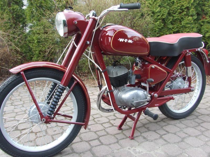 Polskajazda Motocykle Wfm Wfm M06 Vintage Motorcycles Motorbikes Classic Motorcycles