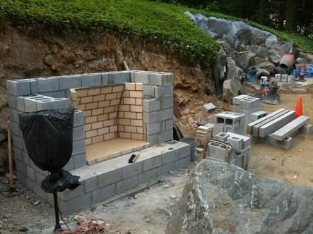 Free Outdoor Fireplace Construction Plans Google Search Outdoor