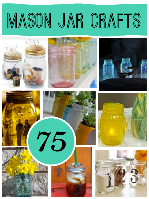 Ways To Decorate Glass Jars 75 Mason Jar Craft The Original Roundup From Savedbyloves