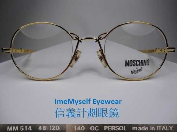 MOSCHINO by Persol M384 vintage frame optical spectacles Rx prescription eyeglasses for reading glas