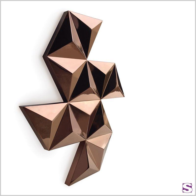 Designheizkörper Lavina   SEBASTIAN E.K.   Lavina überzeugt Mit  Einzigartigem Geometrischen Design. Die Robuste Blende Aus Edelstahl  Garantiert Eine Lange ...