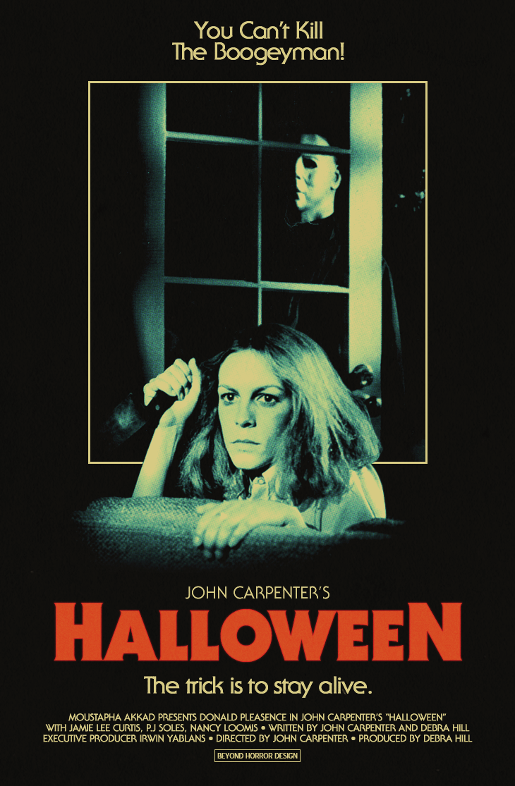 BEYOND HORROR DESIGN HALLOWEEN (John Carpenter 1978