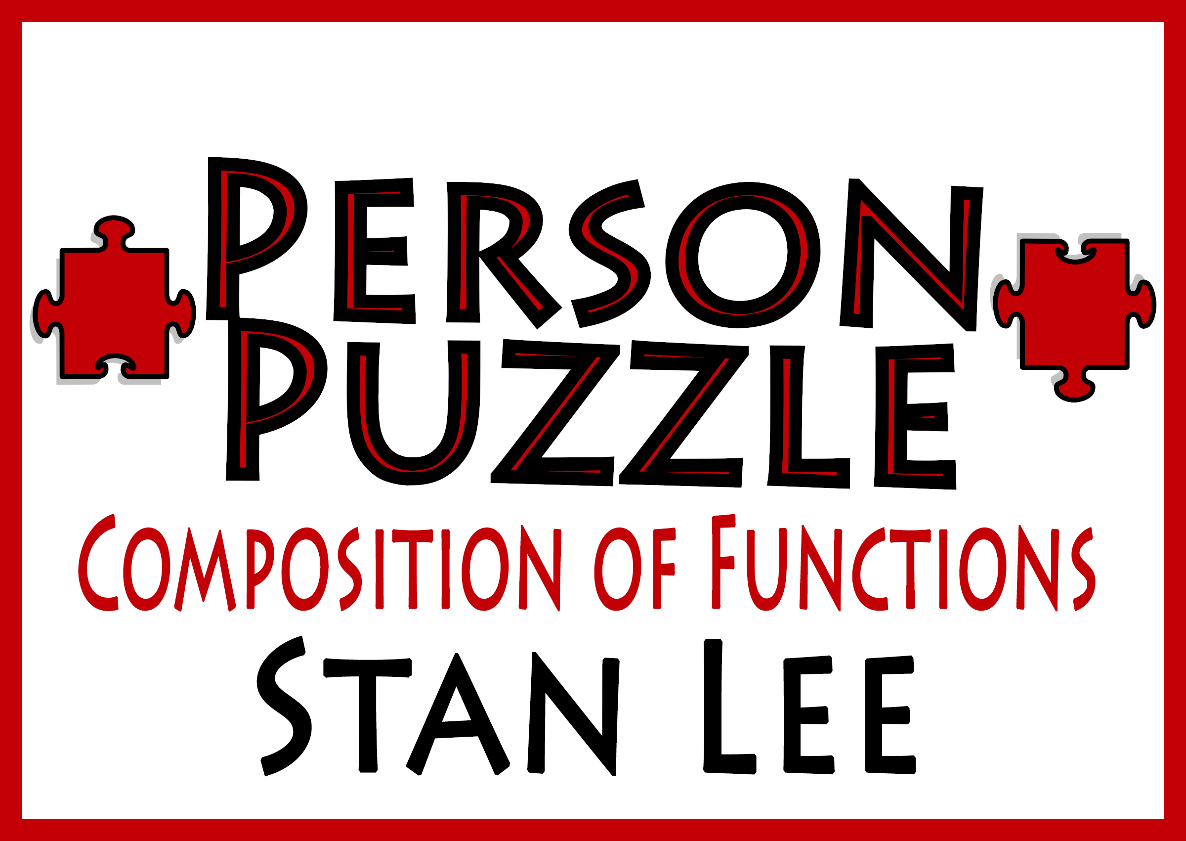 Person Puzzle Composition Of Functions
