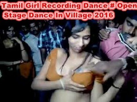 Tamil Desi Village Girl Dance # Open Stage Dance Public Midnight