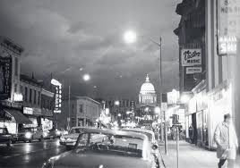 Honestly can't even explain to you how much I love this picture...State Street in the 1950's!! Wish I could travel back in time right about now..