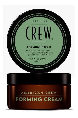 Medium Firm Hold Wax Or Oil Based American Crew Forming Cream Adds Shine