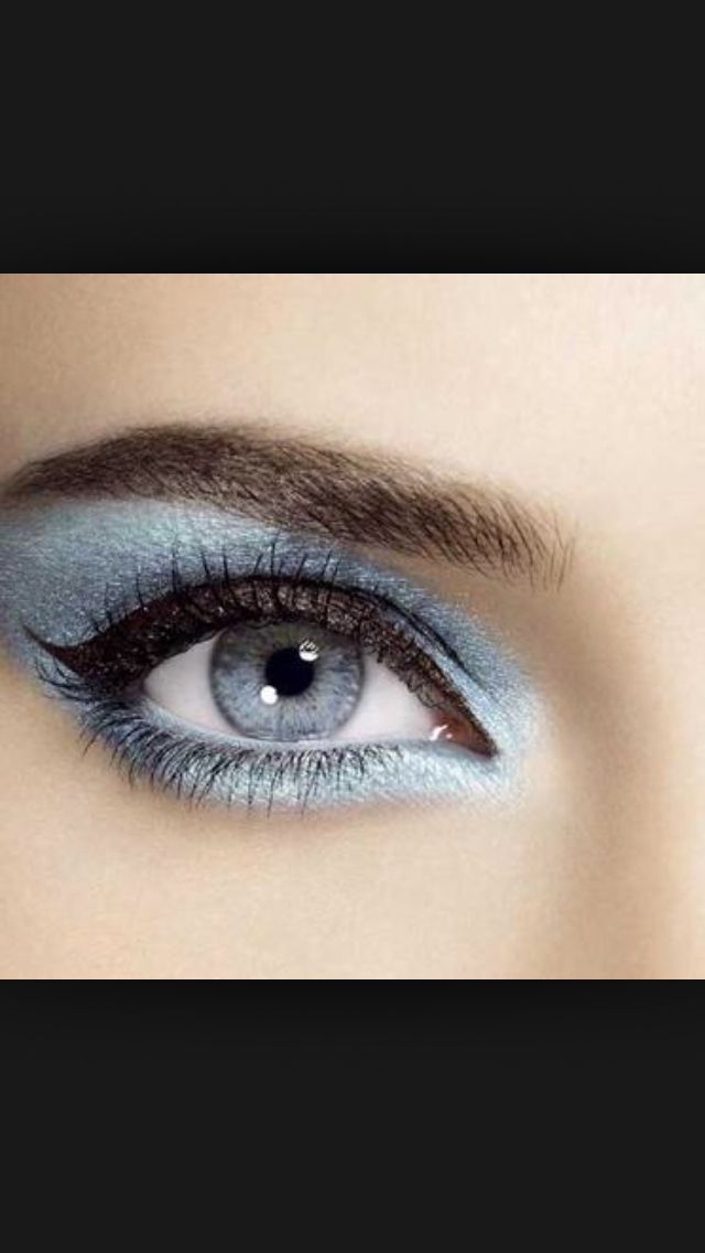 Assez Maquillage yeux bleu | Maquillage pour les yeux bleu | Pinterest RE35