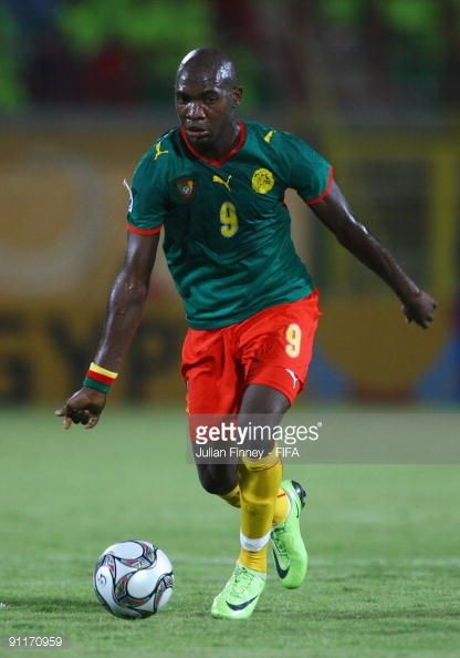 Brice Owona Of Cameroon In Action During The Fifa U20 World Cup Group C Match Between Cameroon And Korea Republic At The Army Stadium On September 26 Kamerun
