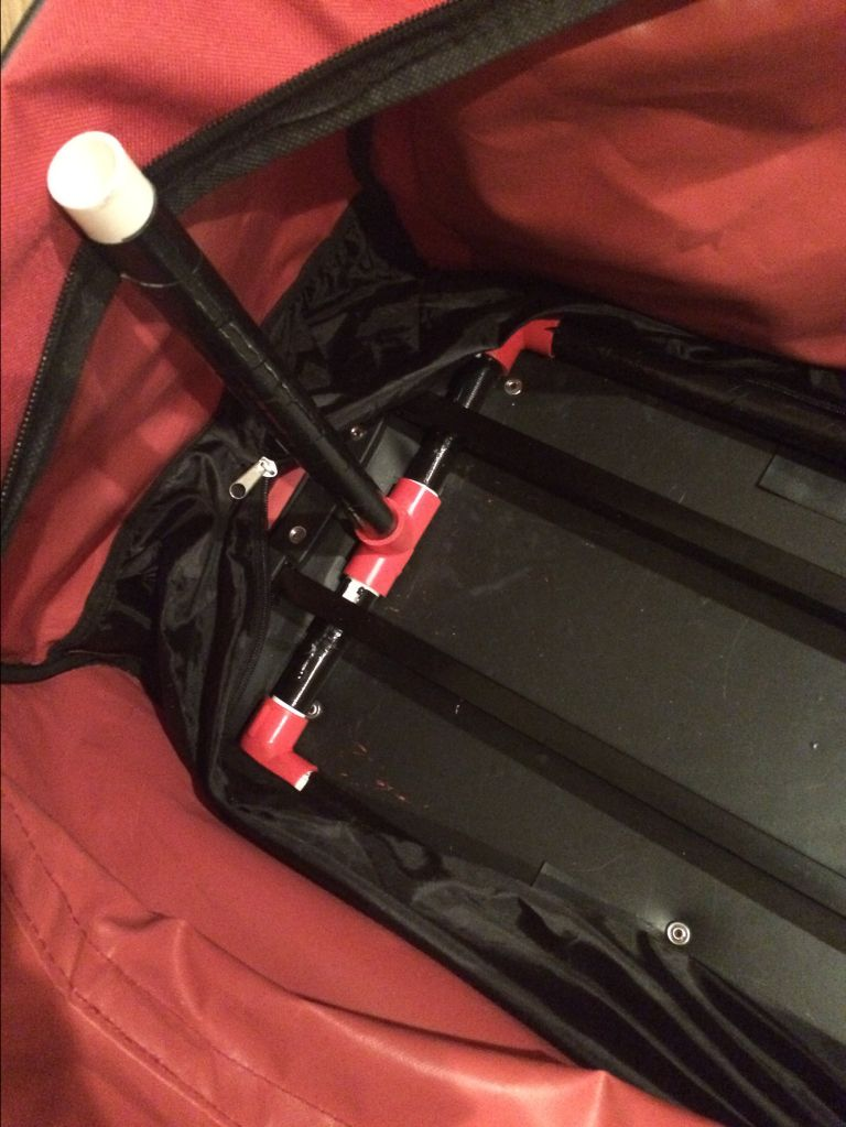Diy Dance Bag With Racks Keeping Up With The Pooveys